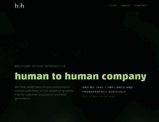h2hinteractive.com screenshot