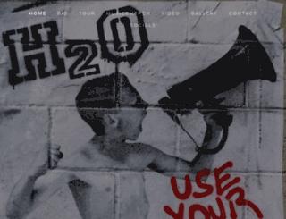 h2ogo.com screenshot