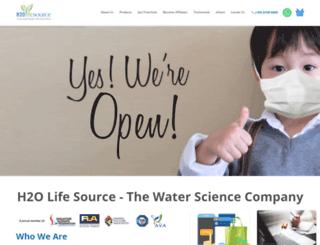 h2olifesource.com screenshot