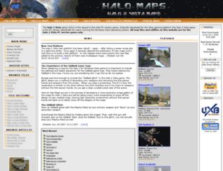 h2v.halomaps.org screenshot