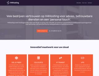 h4hosting.eu screenshot