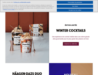 haagendazs.fr screenshot