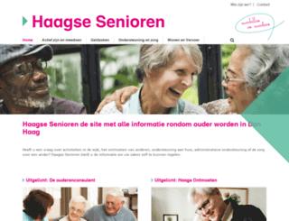 haagseouderen.nl screenshot