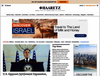 haaretz.com screenshot
