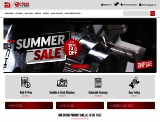 haascnc.com screenshot