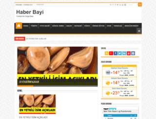 haberbayi.com screenshot