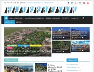 haberbeyan.com screenshot