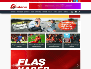 haberler.geliyoo.com screenshot