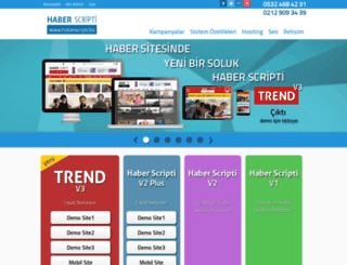 haberscripti.biz screenshot