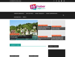 haberyapi.com screenshot