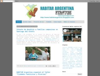 habitarargentina.blogspot.com screenshot