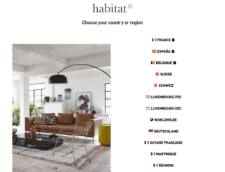 habitat.net screenshot