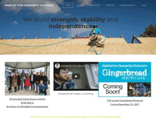 habitatvictoria.com screenshot
