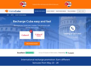 hablacuba.com screenshot