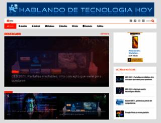 hablandodetecnologiahoy.blogspot.com screenshot