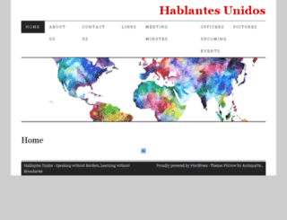 hablantesunidos.truman.edu screenshot