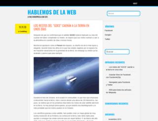 hablemosdelaweb.wordpress.com screenshot