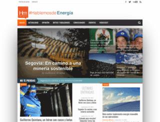 hablemosdemineria.com screenshot
