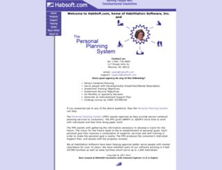 habsoft.com screenshot