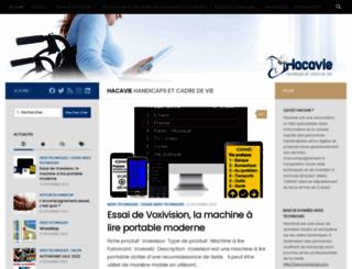 hacavie.com screenshot