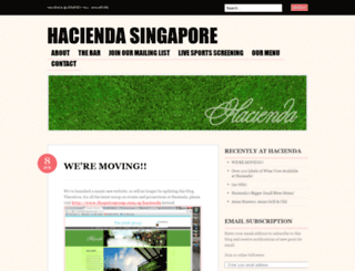 haciendaconcepts.wordpress.com screenshot