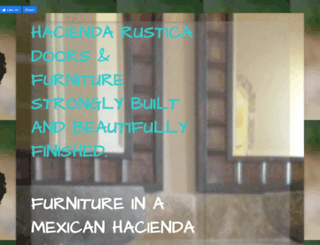 haciendarustica.com screenshot
