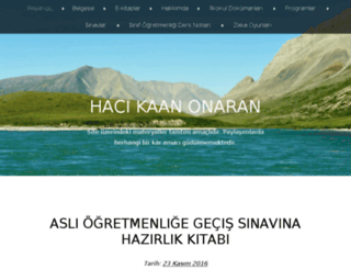 hacikaanonaran.wordpress.com screenshot