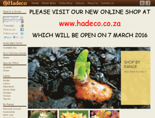 hadecoshop.com screenshot