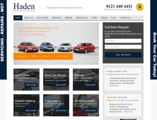 hadenbirmingham.co.uk screenshot