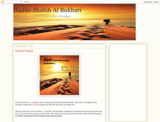 hadits-albukhari.blogspot.com screenshot