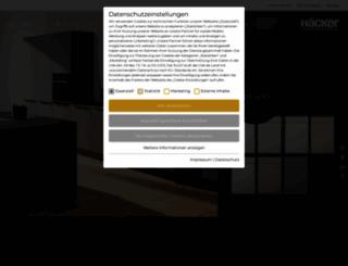 haecker-kuechen.de screenshot
