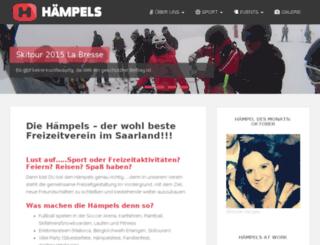 haempels-ev.de screenshot