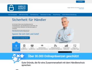 haendlerschutz.com screenshot