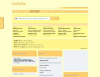 hafabra.startkabel.nl screenshot