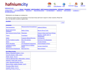 hafniumcity.com screenshot