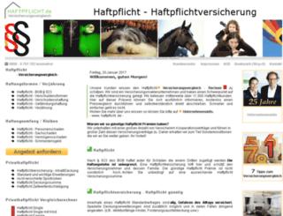 haftpflicht.de screenshot