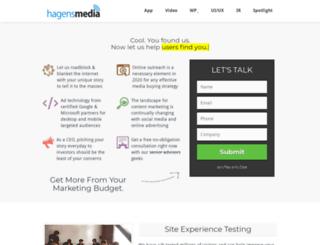 hagensmedia.com screenshot