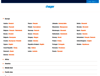 hager.com screenshot