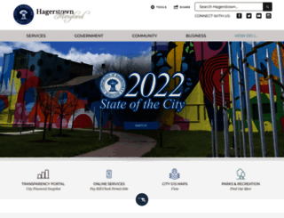 hagerstownmd.org screenshot