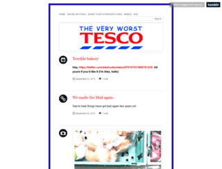haggerston-tescos.tumblr.com screenshot