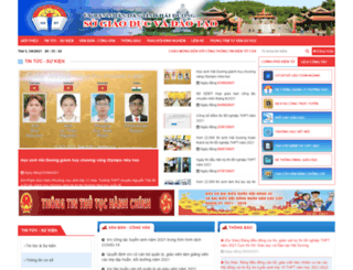 haiduong.edu.vn screenshot