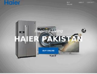 haier.pk screenshot