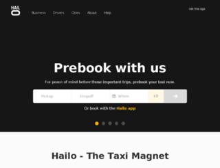 hailocab.com screenshot