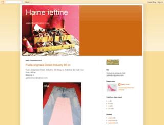 haine-de-toate-felurile.blogspot.com screenshot