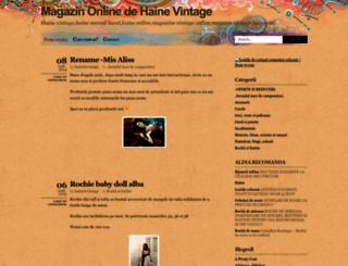 hainutevintage.wordpress.com screenshot