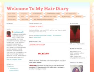 hair-diariessimplytammy88.blogspot.com screenshot