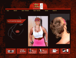 hairaction.com screenshot