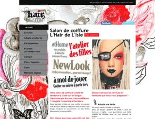 hairdelisle.fr screenshot