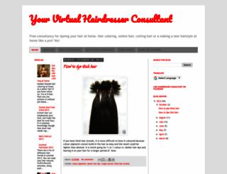hairdresser-consultant.blogspot.com screenshot