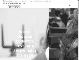 hairextensionsantamonica.net screenshot